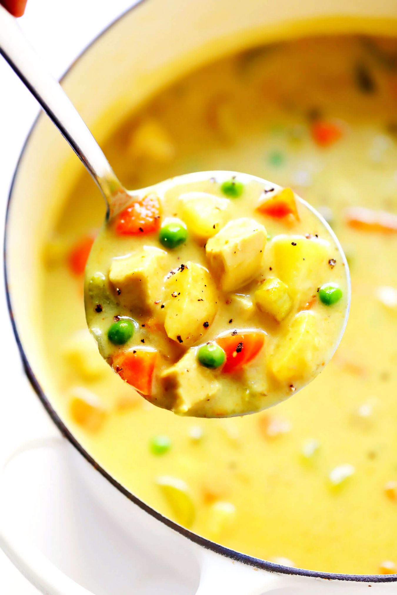 Cozy Curry Chicken Soup - Soup Recipes Indian