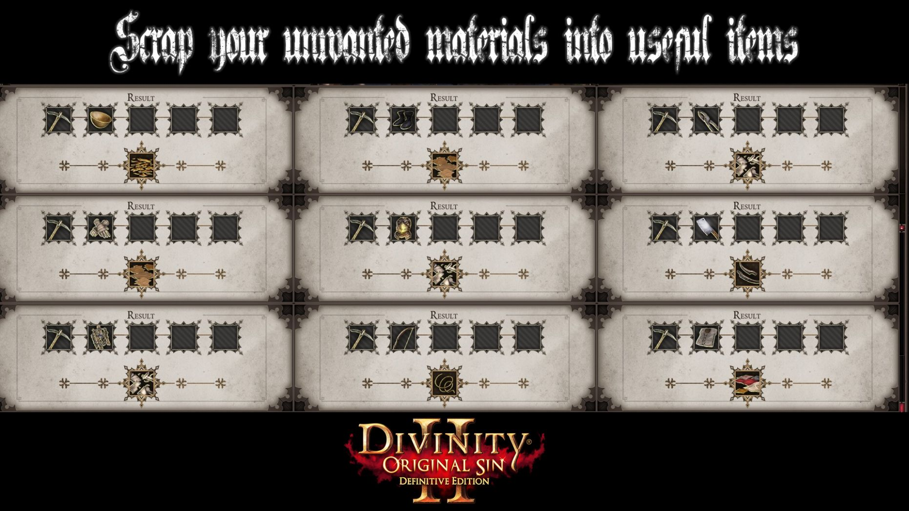 Crafting Overhaul Definitive Edition Update is available to ...
