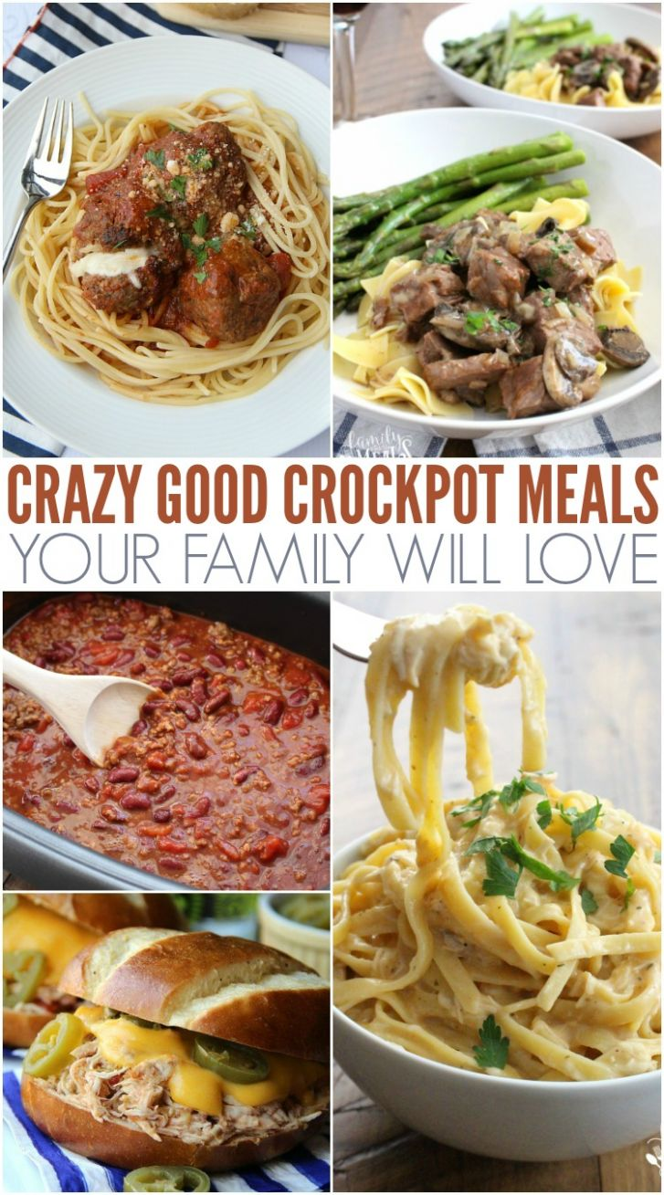 Crazy Good and Easy Crockpot Recipes - Dinner Recipes Crockpot