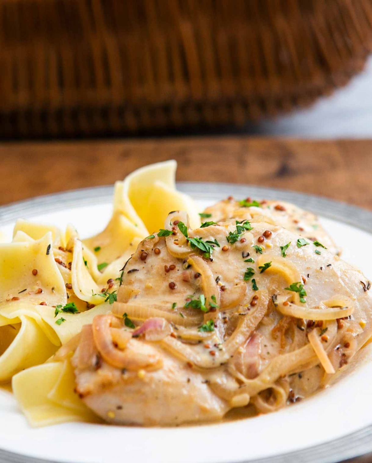 Creamy Dijon Mustard Chicken - Recipe Chicken Breast Dijon Mustard