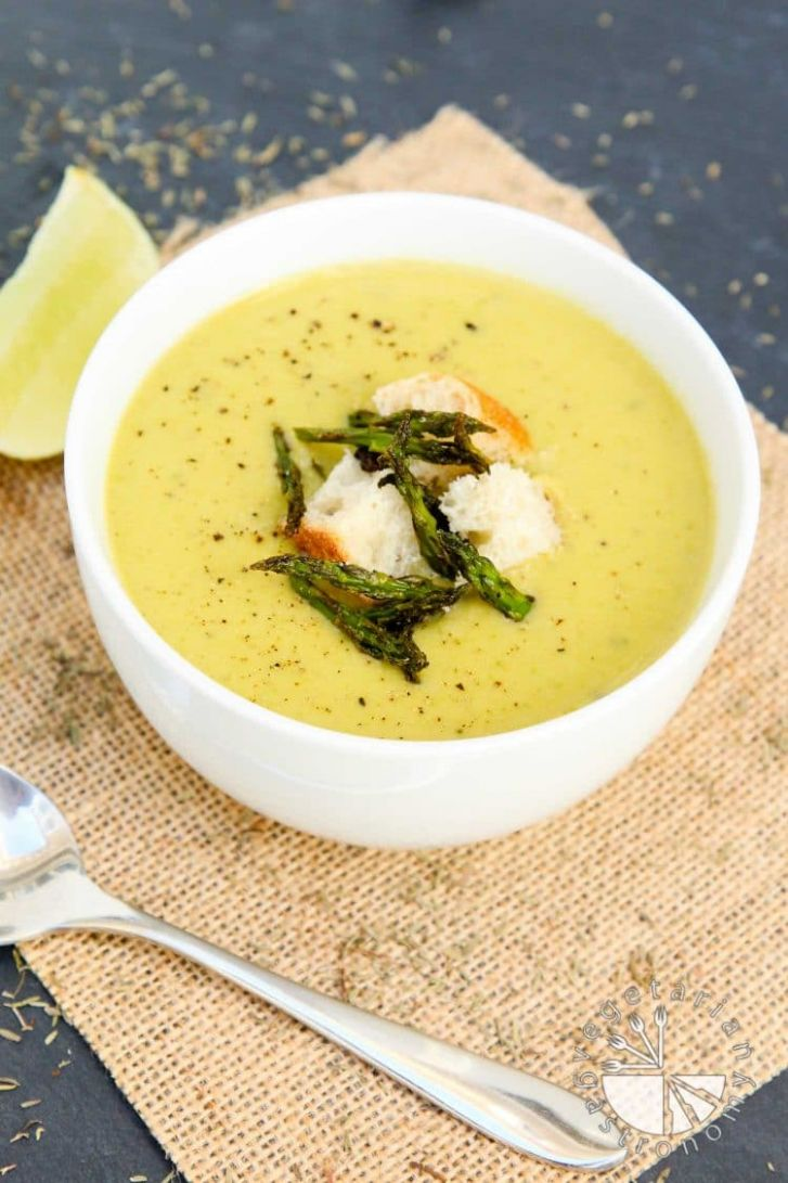Creamy Roasted Asparagus Soup - Recipes Asparagus Soup Cream