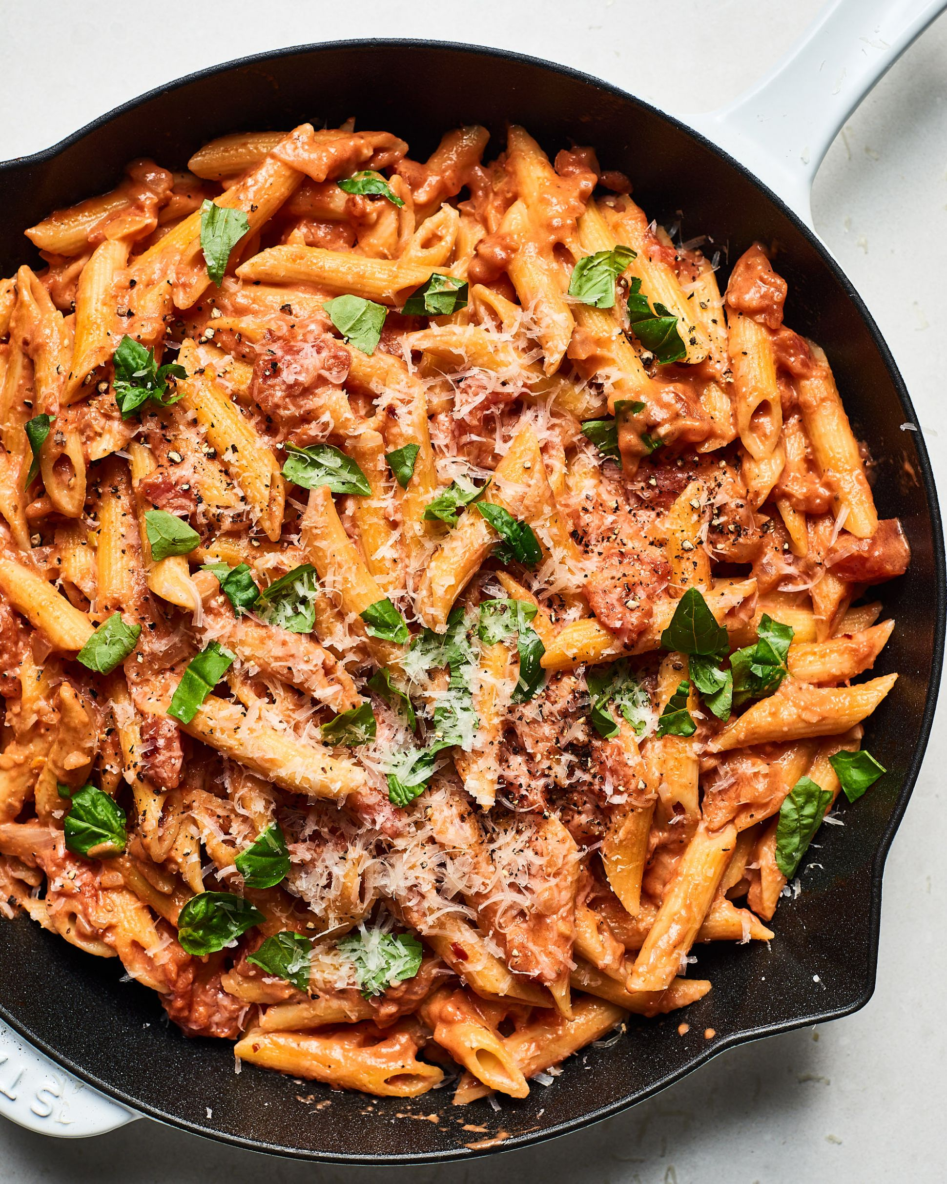Creamy Tomato Pasta - Recipes Of Pasta Dishes