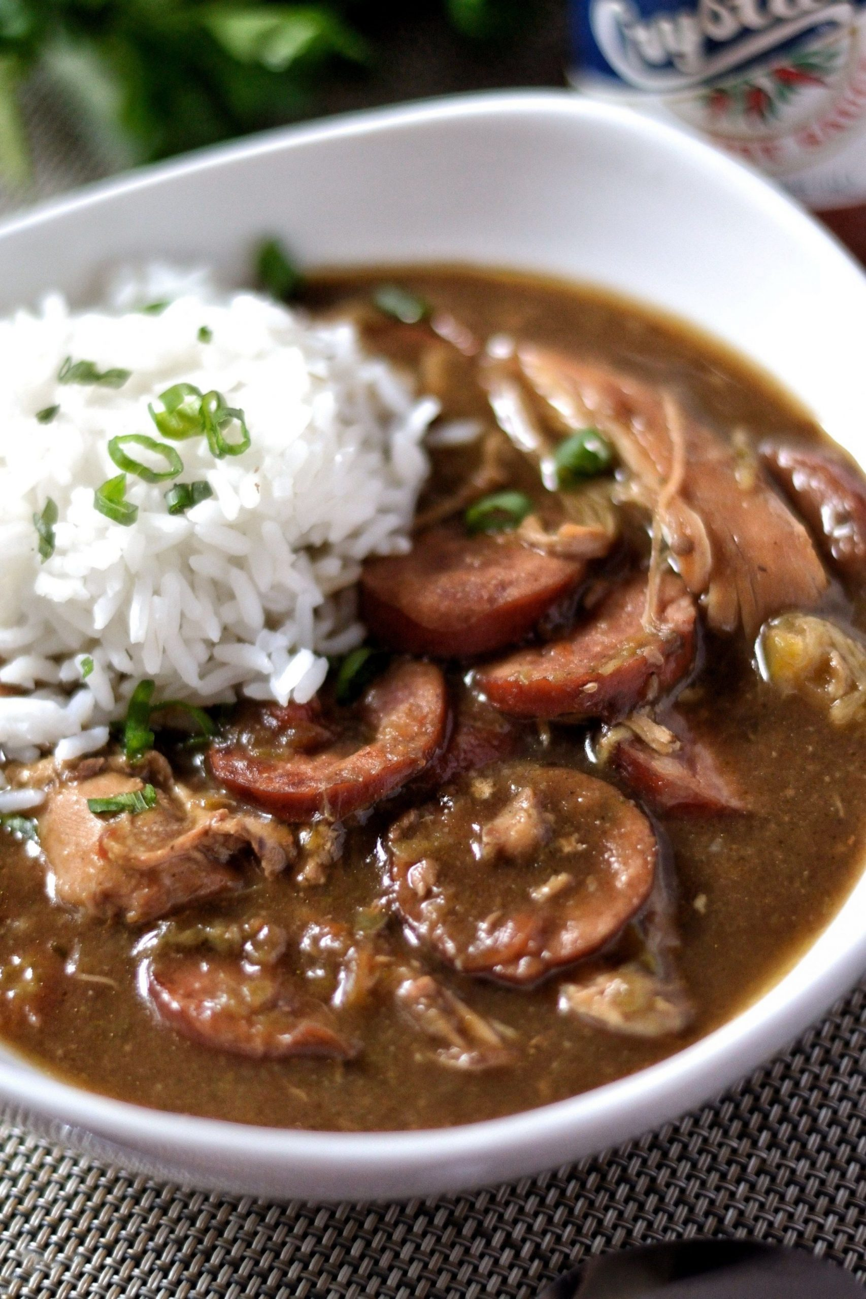 Creole Chicken and Sausage Gumbo - Recipes Chicken Gumbo