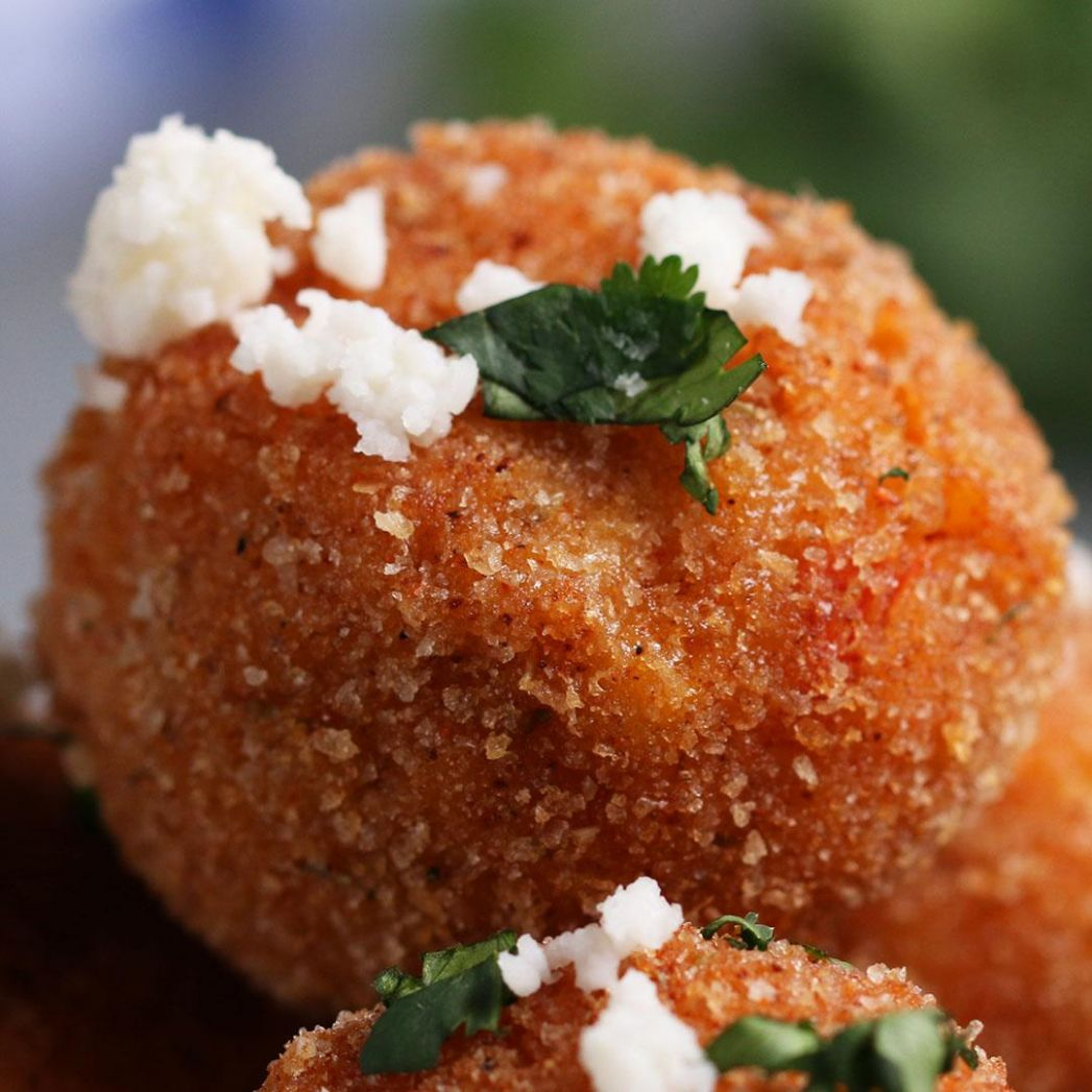 Crispy Chipotle Rice Balls Recipe by Tasty