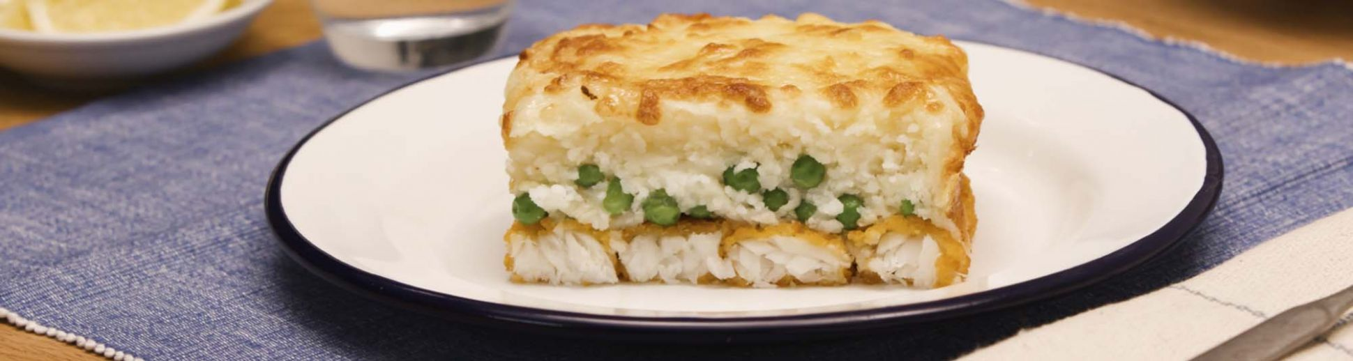 Crispy Fish Finger Pie