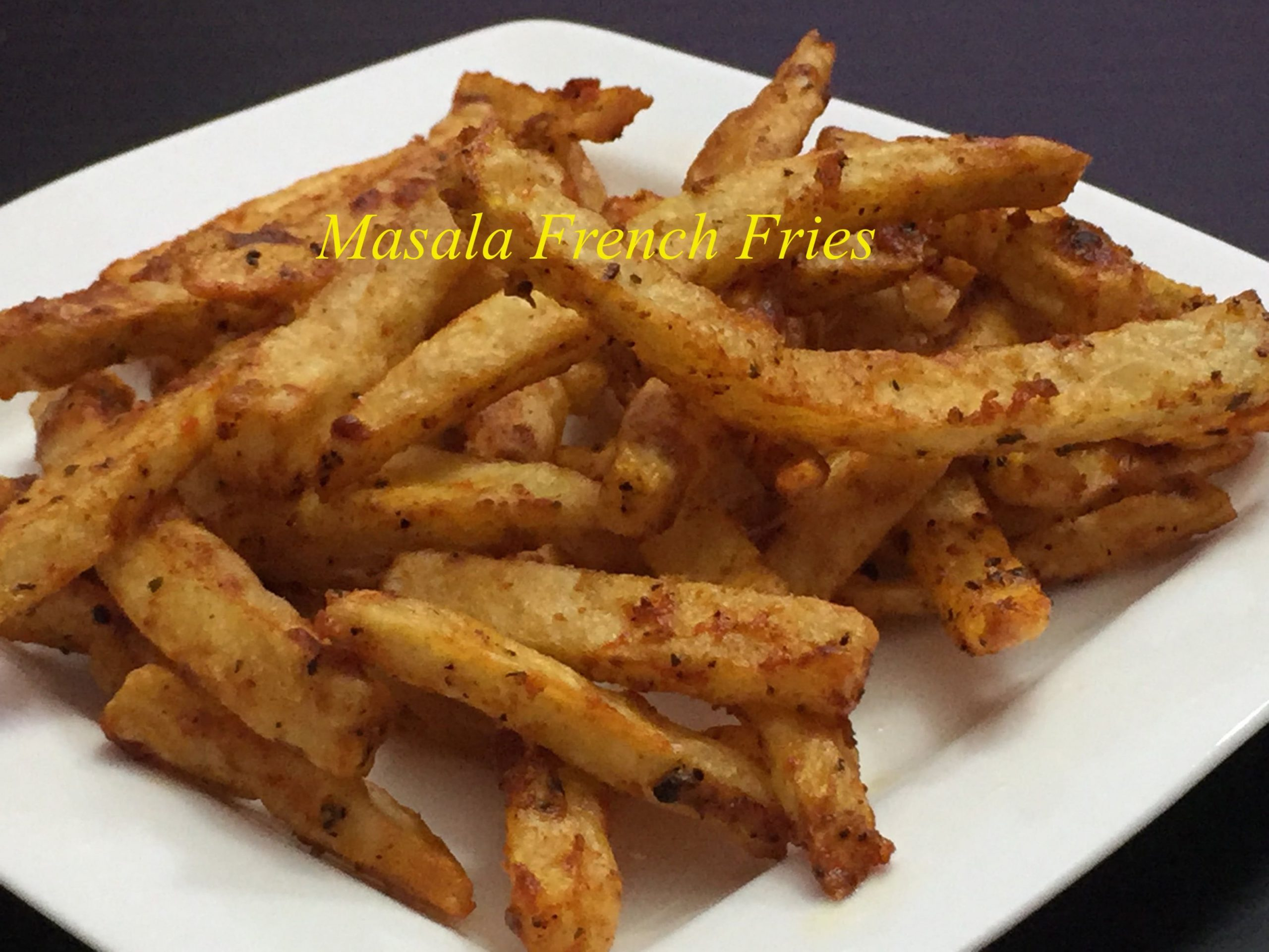 Crispy Masala French Fries Recipe|Potato French Fries - Recipes Potato Fries