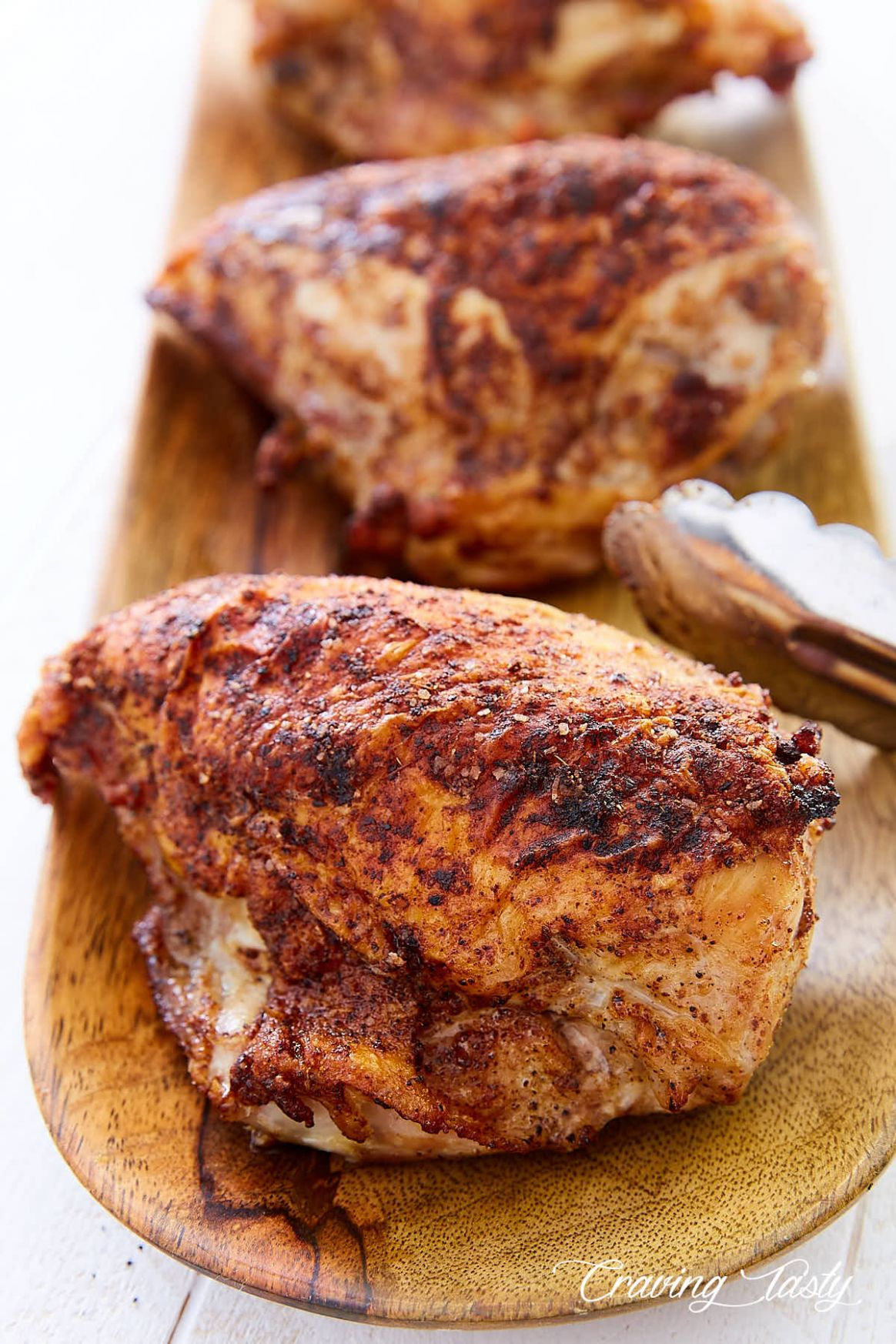 Crispy Oven Roasted Bone-In Chicken Breast