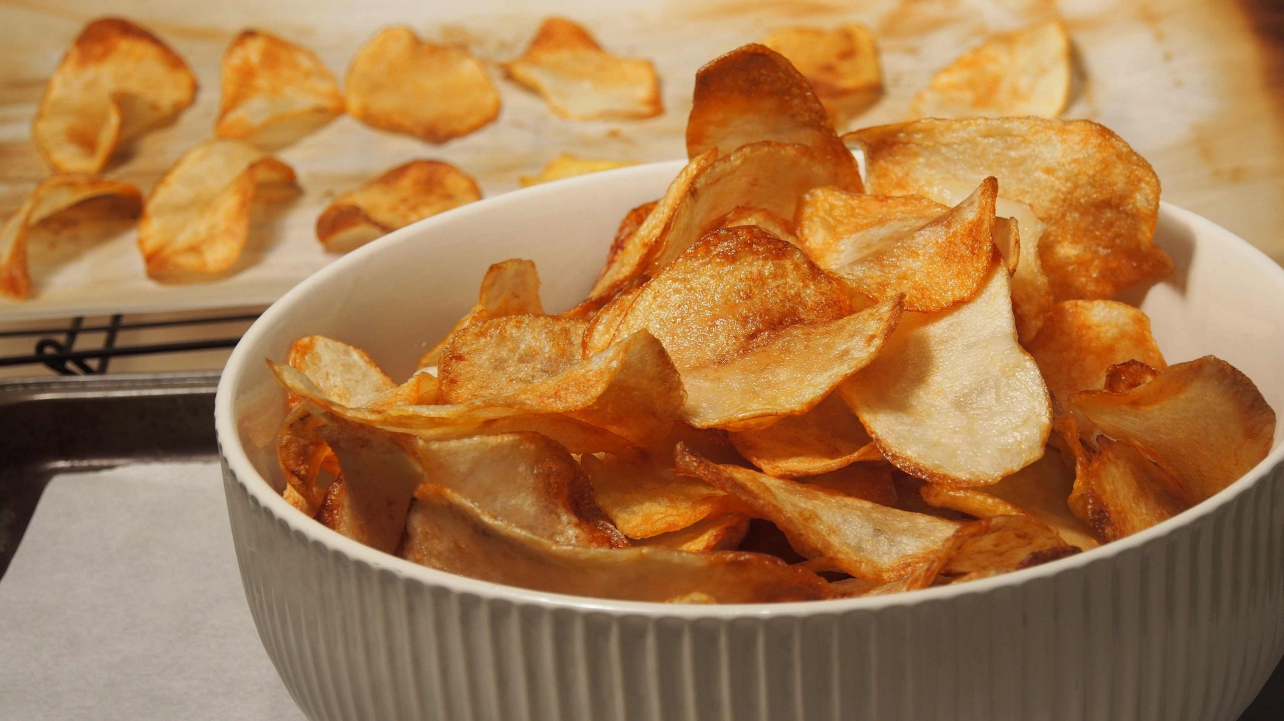 Crispy Potato Chips - Recipes With Potato Chips