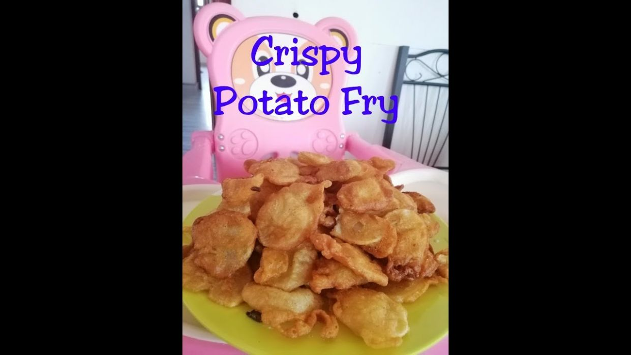 Crispy Potato Fry | Recipe | Tasty | | Easy | Evening Snack ..