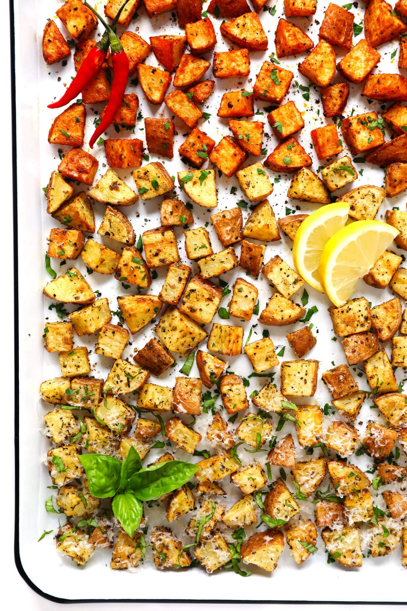 Crispy Roasted Potatoes (11 Ways!)