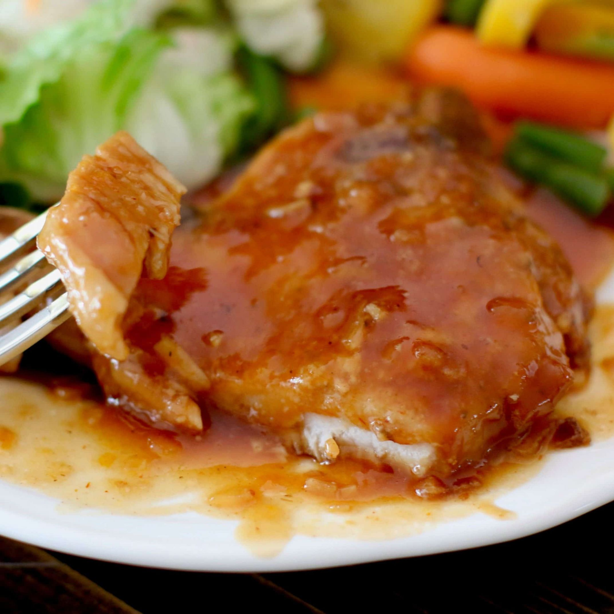 CROCK POT BBQ PORK CHOPS