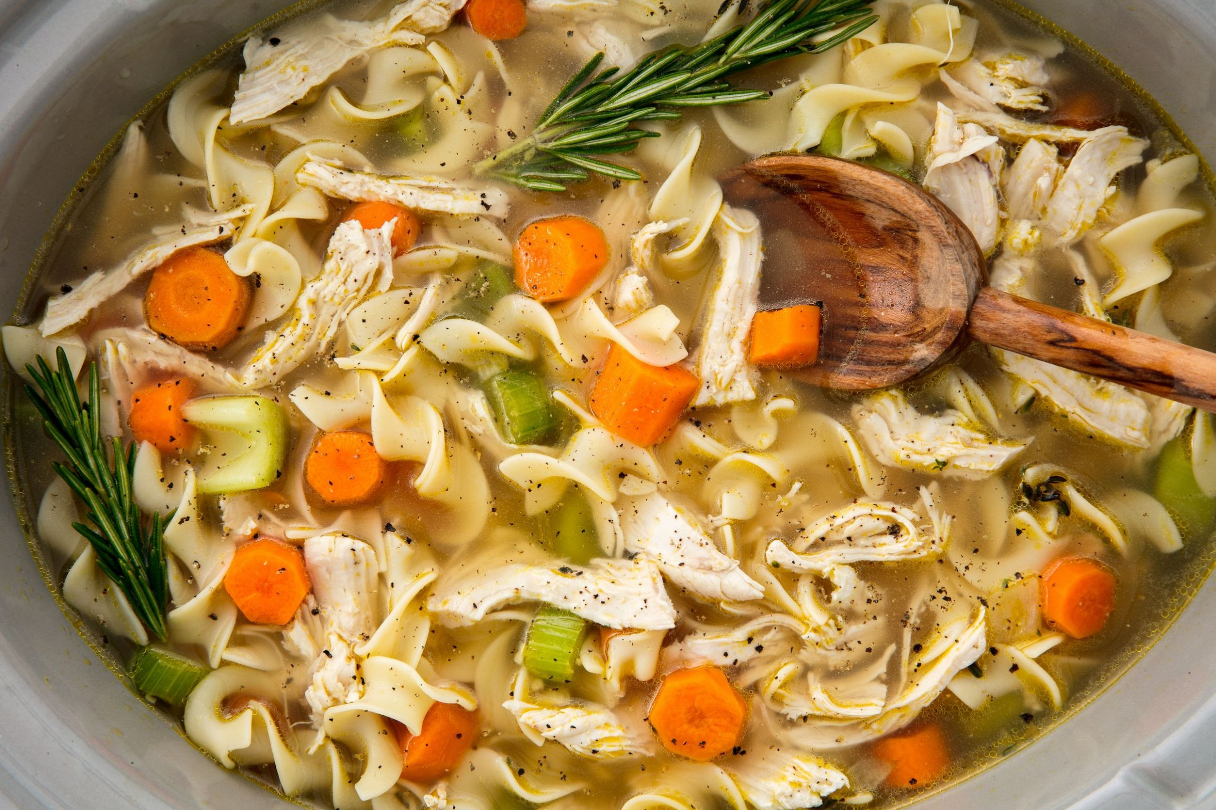 Crock-Pot Chicken Noodle Will Warm Up Your Whole Crew - Recipes Chicken Noodle Soup Crock Pot