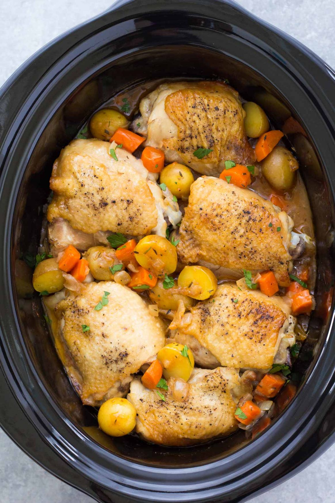 Crockpot Chicken and Potatoes - Recipes Chicken Breast In Slow Cooker