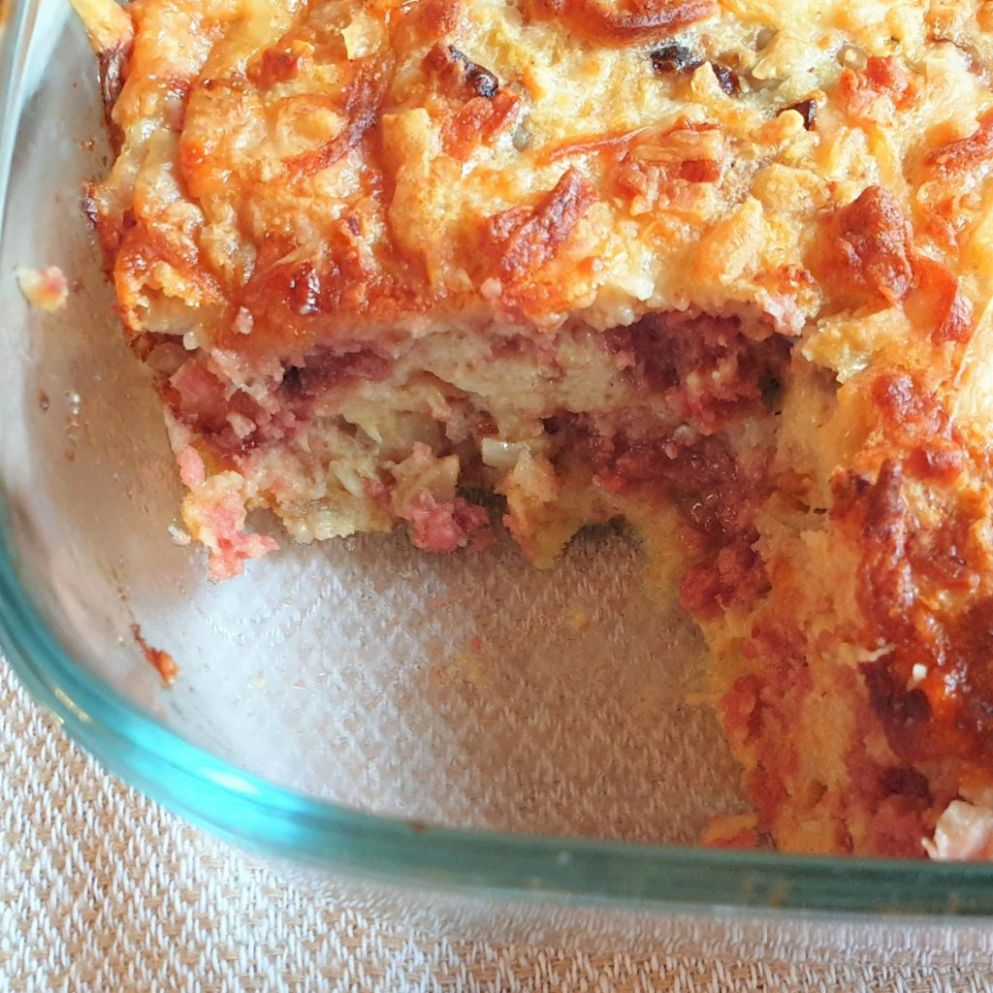 Crustless Bully Beef Quiche - Foodle Club