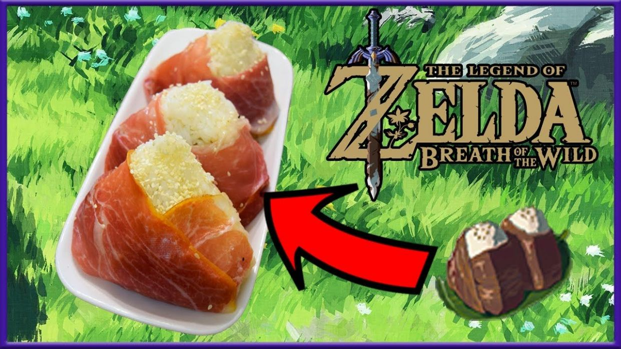 Cuccos Kitchen | How To Make Meaty Rice Balls | Legend of Zelda ..