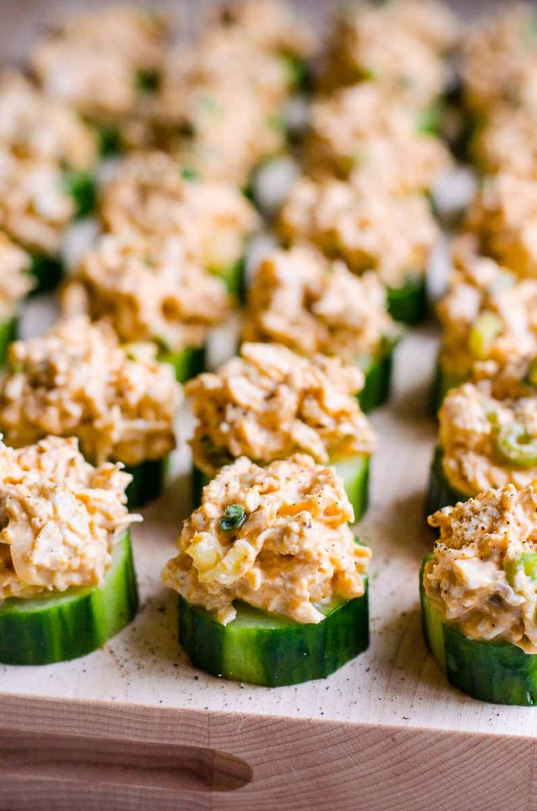 Cucumber Appetizer Bites - Simple Recipes Appetizers Finger Food