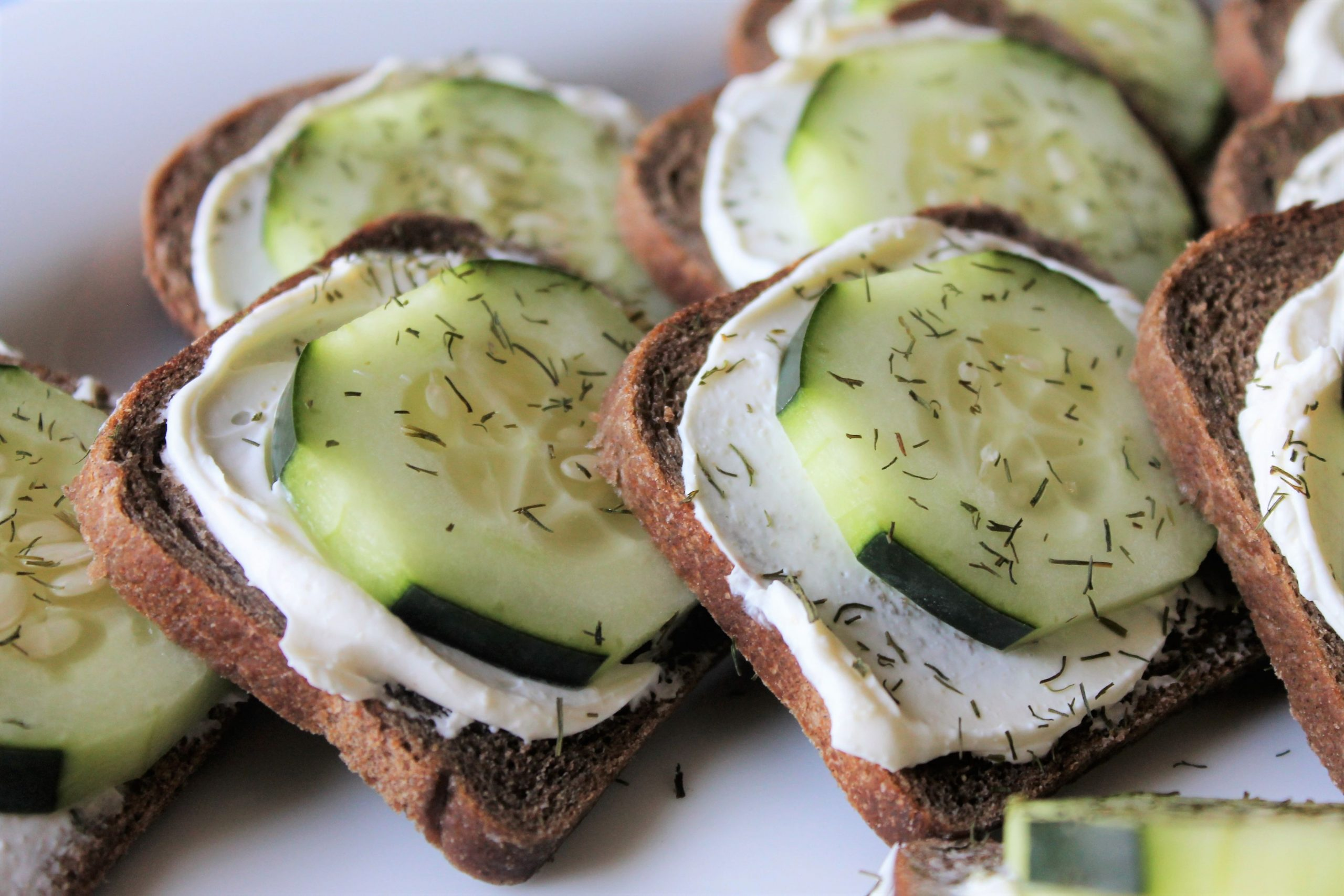 Cucumber Sandwiches - Cucumber Sandwich Recipes No Bread