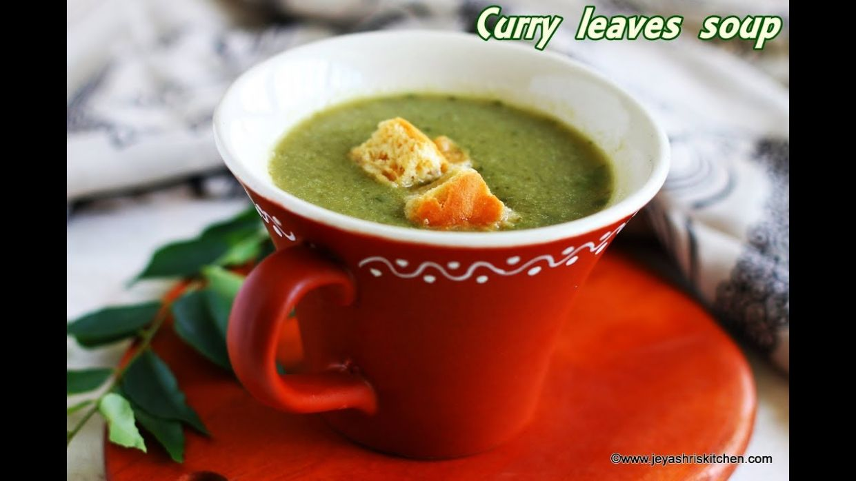 Curry leaves soup recipe