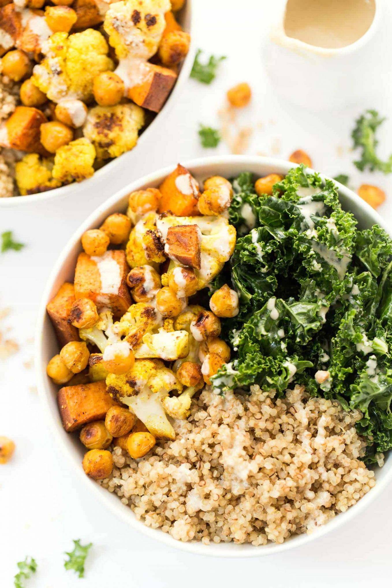 Curry Roasted Vegetable Quinoa Bowls - Recipe Vegetarian Quinoa Bowl