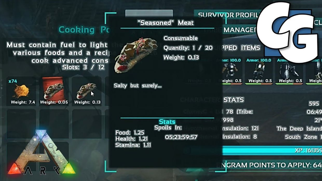 Custom Consumable - Official ARK: Survival Evolved Wiki - Food Recipes Ark Survival
