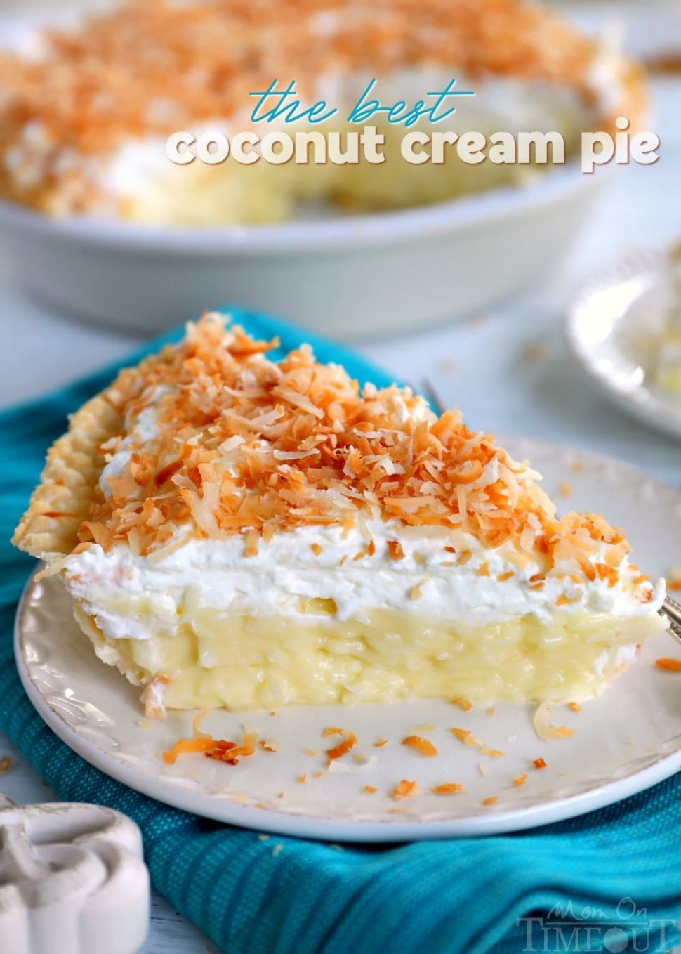 Dad's Coconut Cream Pie - Recipes Desserts With Coconut Milk