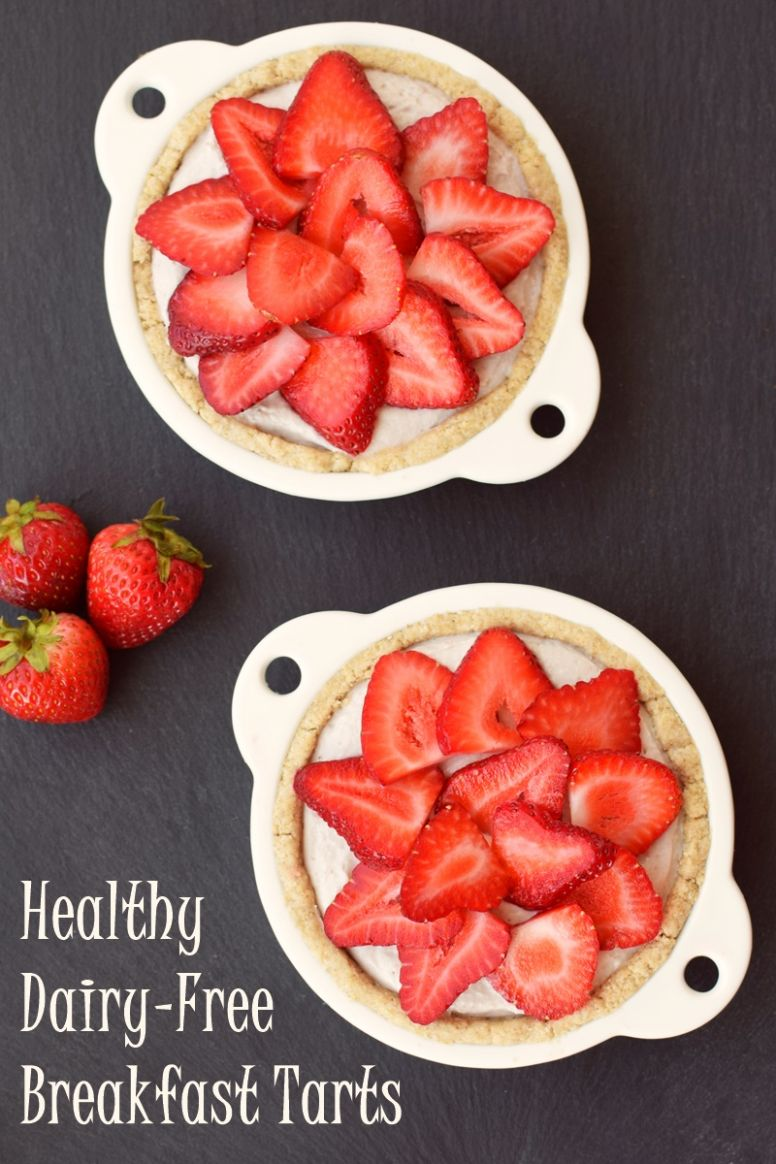 """Dairy Free Breakfast Tarts with """"Bowl of Oatmeal"""" Crust - Breakfast Recipes Gluten And Dairy Free"""