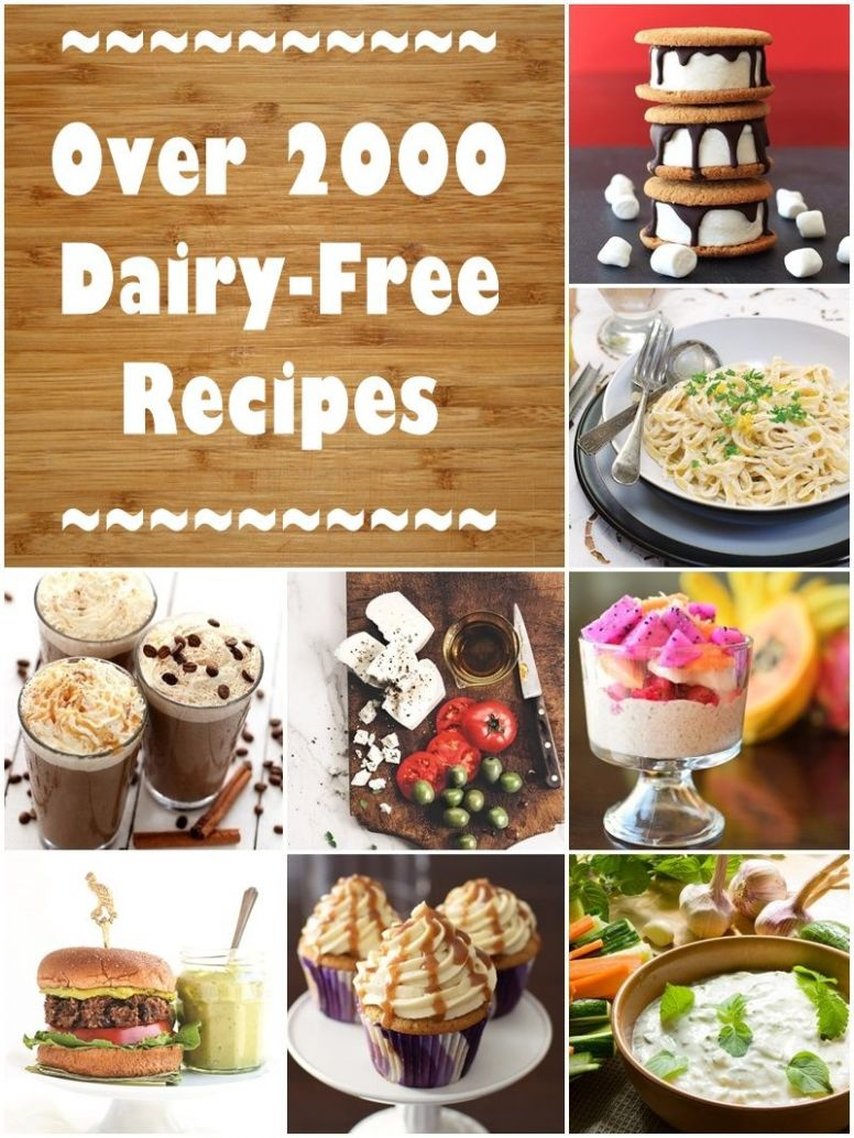 Dairy-Free Recipes: Over 11 Meals, Desserts, Snacks & More | No ..