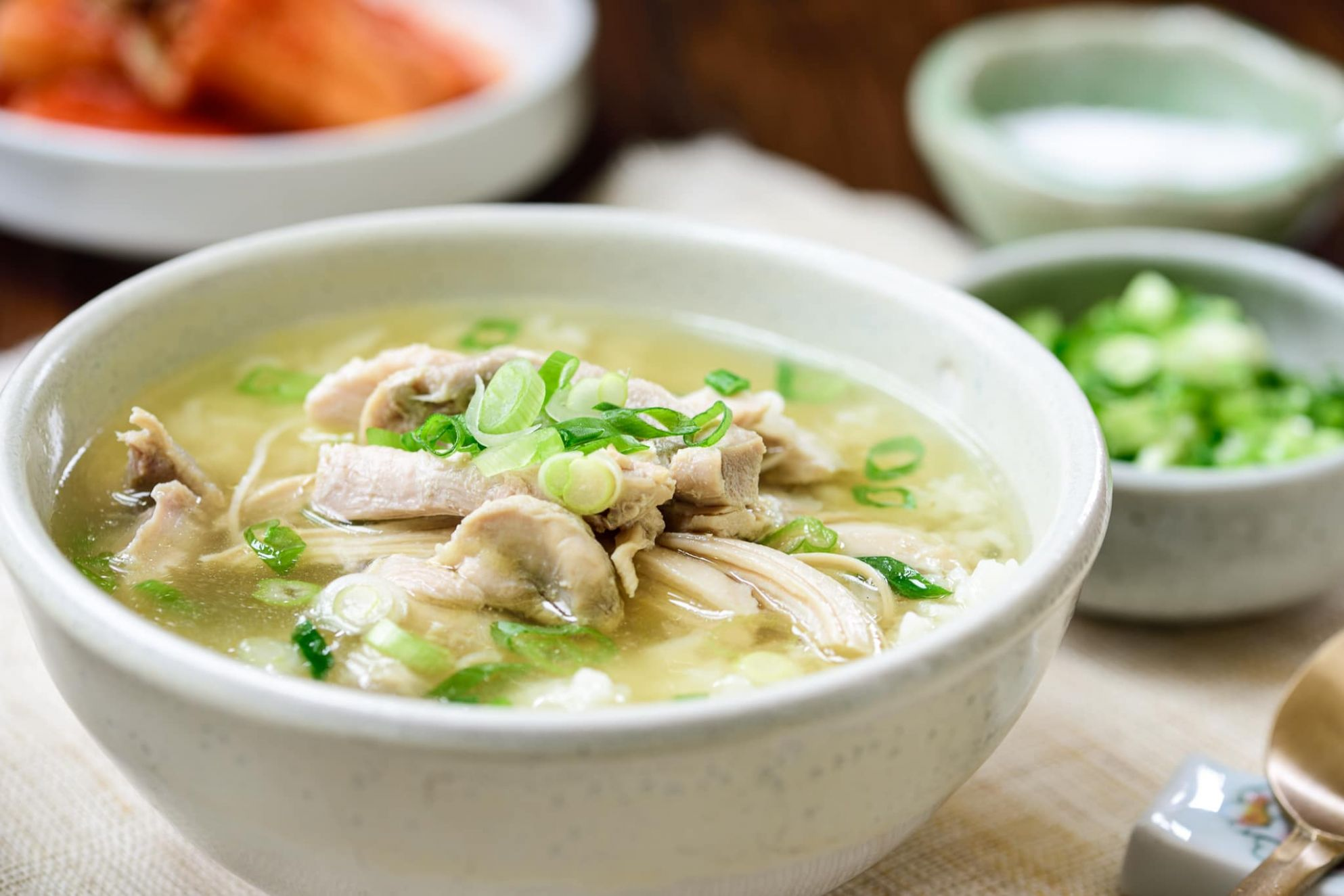 Dak Gomtang (Korean Chicken Soup) - Soup Recipes Korean