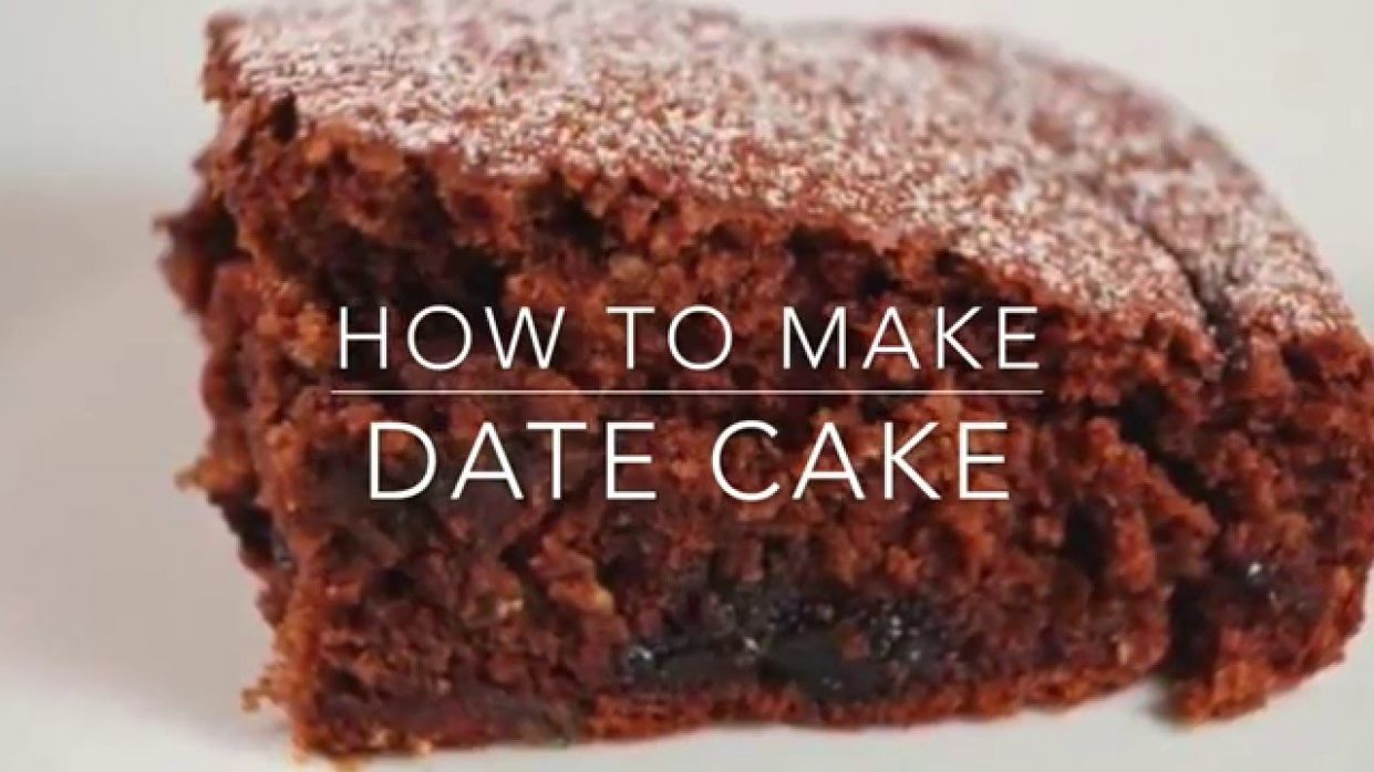 Date Cake Recipe - Dessert Recipes On Youtube