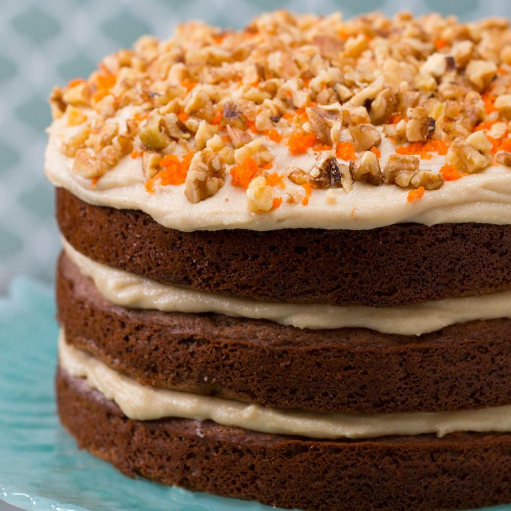 Decadent Dairy-Free Carrot Cake Recipe by Tasty