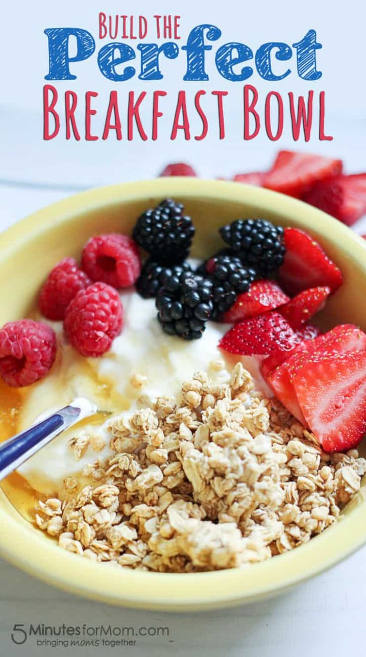 Delicious and Healthy Breakfast Bowl with Greek Yogurt - Breakfast Recipes Greek Yogurt