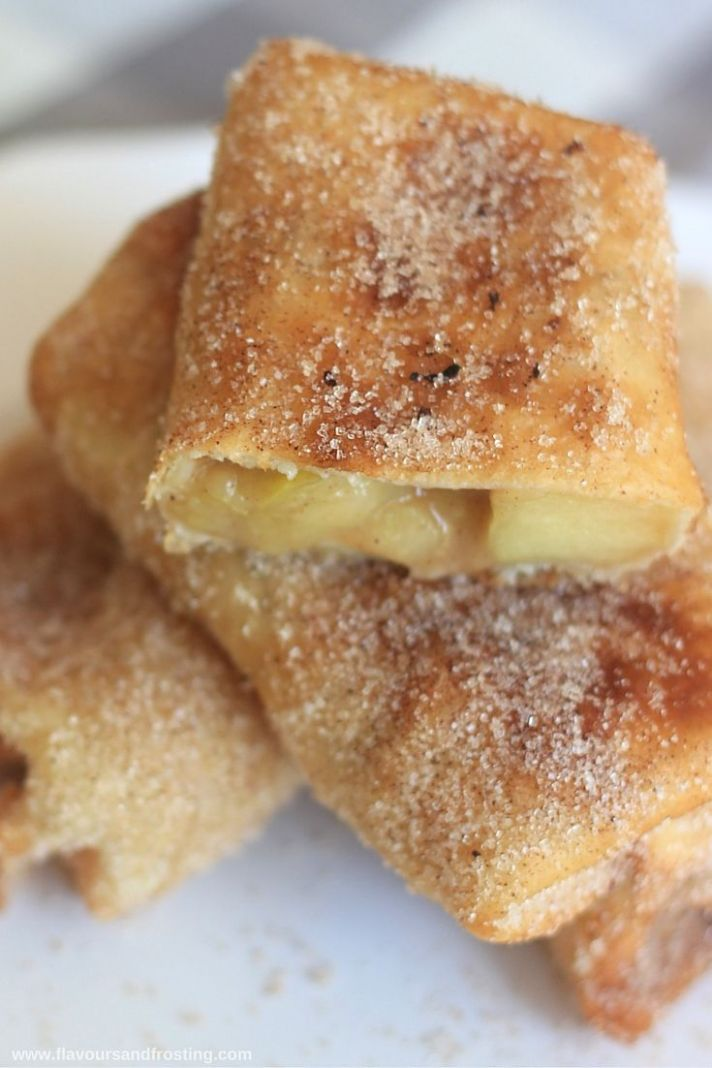 Delicious Apple Pie Chimichanga - Dessert Recipes Using Flour Tortillas
