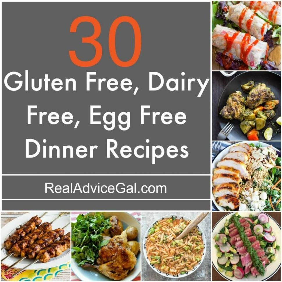 Delicious Gluten Free Dairy Free Egg Free Recipes that you should ...