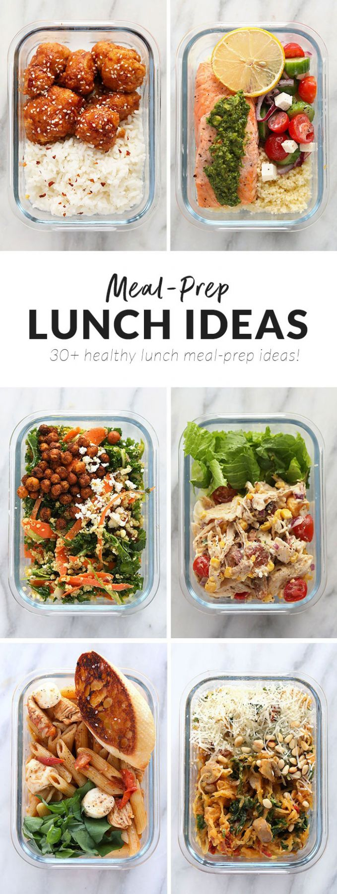 Delicious Healthy Lunch Ideas (12+ Lunch Meal Prep Ideas) - Fit ..