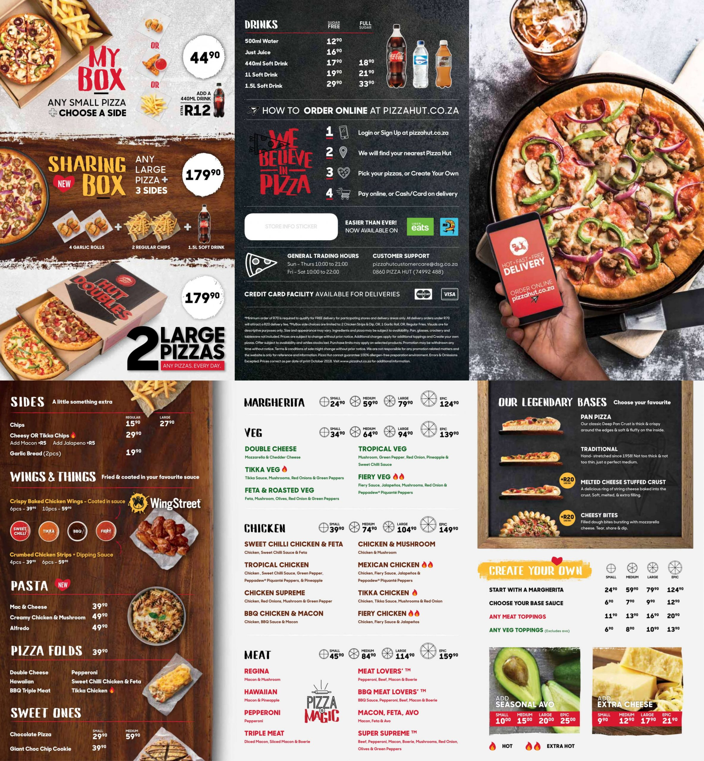 Die 12 Besten Pizzas in Durban - Pizza Recipes South Africa Pdf
