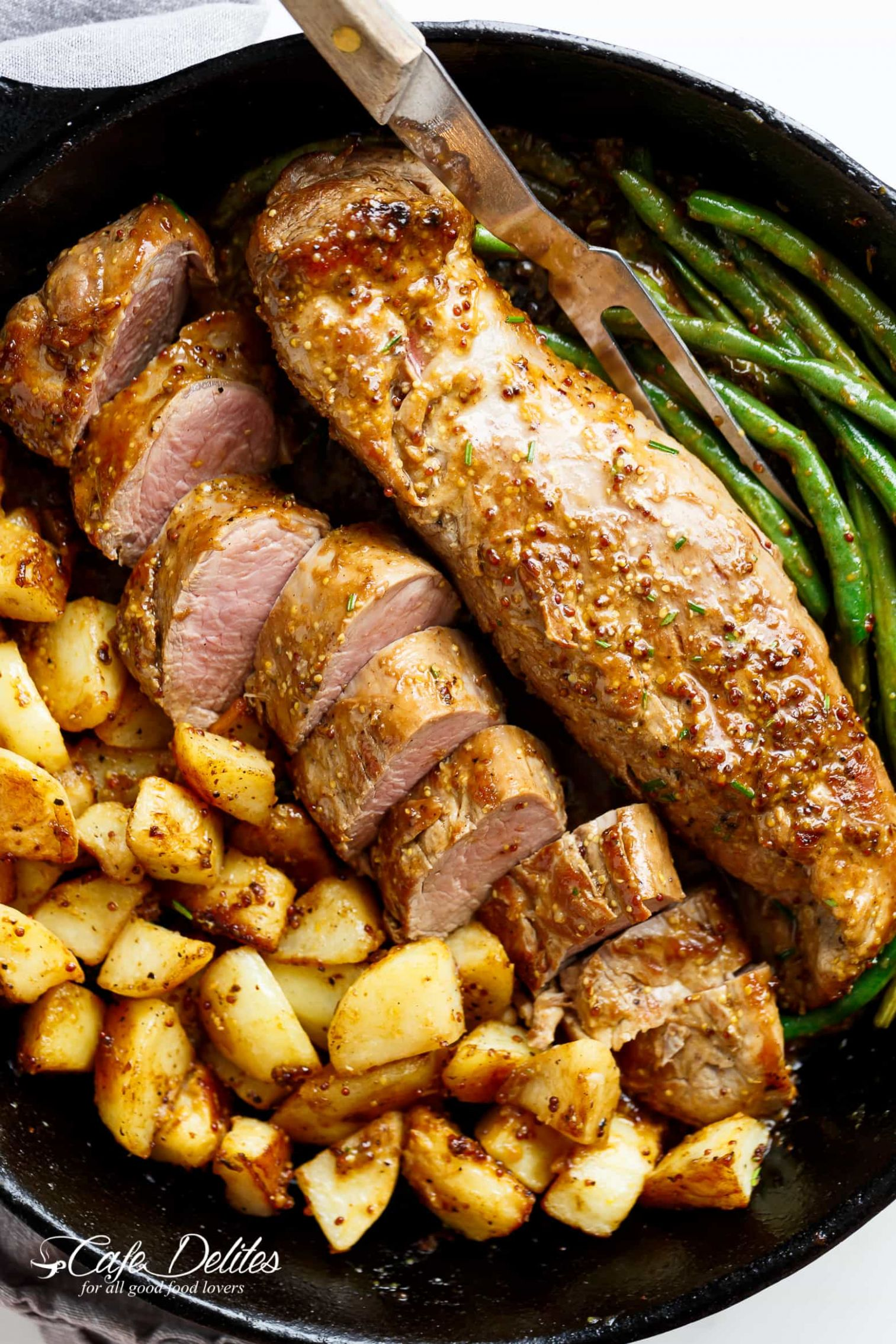 Dijon Garlic Pork Tenderloin - Pork Tenderloin Recipes
