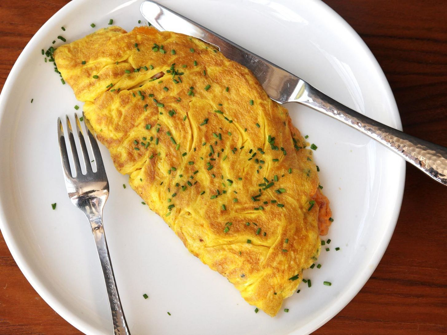 Diner-Style Ham and Cheese Omelette for Two Recipe