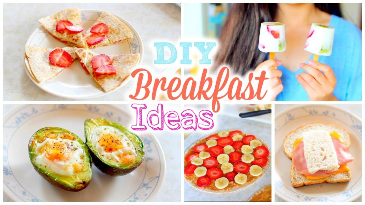 DIY Easy and Quick Back to School Breakfast Ideas | Healthy Breakfast  Recipes - Healthy Recipes Easy To Make At Home