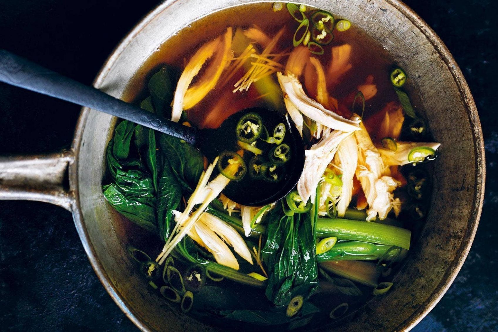 Donna Hay: chicken soup recipe | Homes and Property