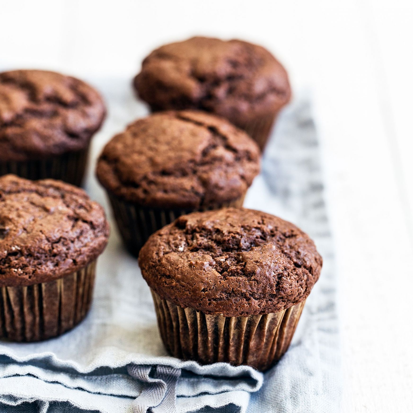 Double Chocolate Muffins - Recipes Chocolate Muffins