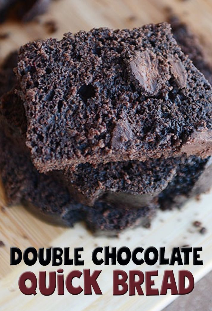 Double Chocolate Quick Bread Recipe - Recipe Chocolate Quick Bread