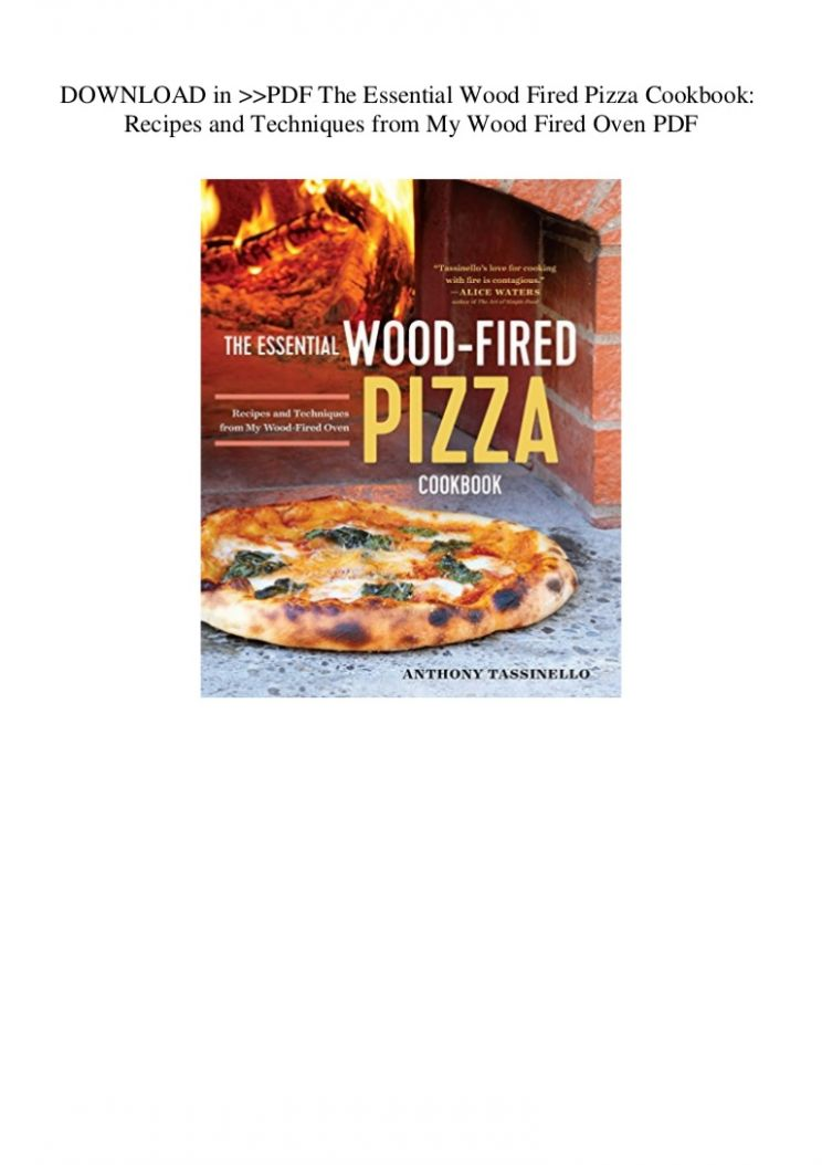 DOWNLOAD in PDF  Essential Wood Fired Pizza Cookbook Recipes and T… - Pizza Recipes Pdf