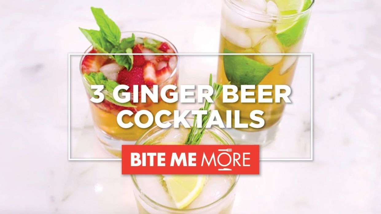 DRINK RECIPE - 12 Easy Ginger Beer Cocktails