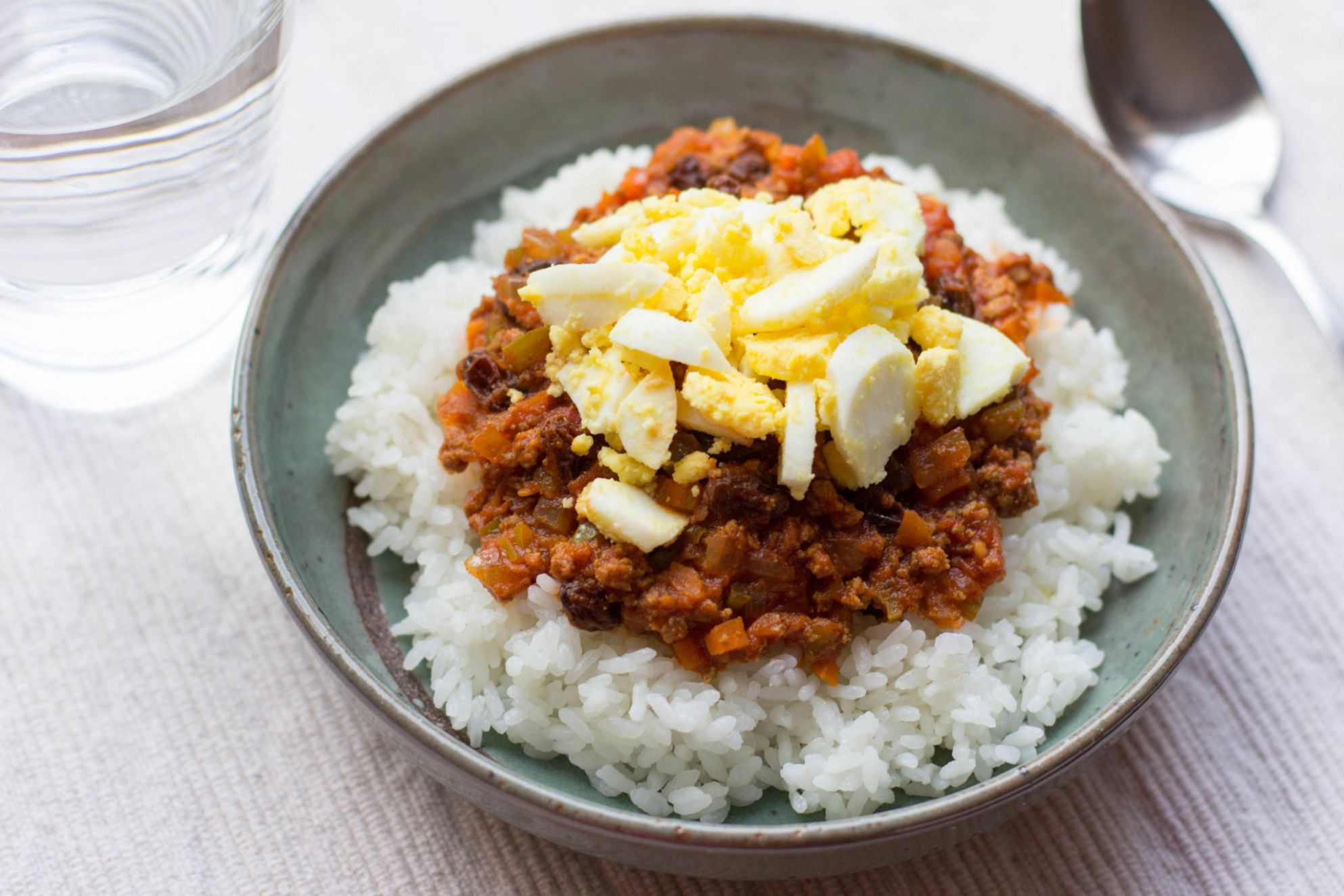 Dry Curry Recipe - Rice Recipes Japanese