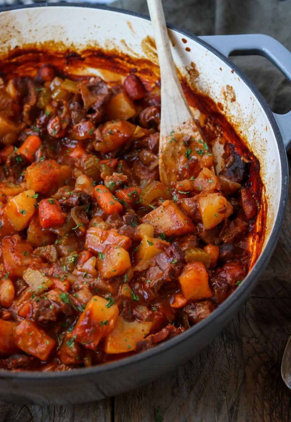 Dutch Oven Beef Stew - Beef Recipes Dutch Oven