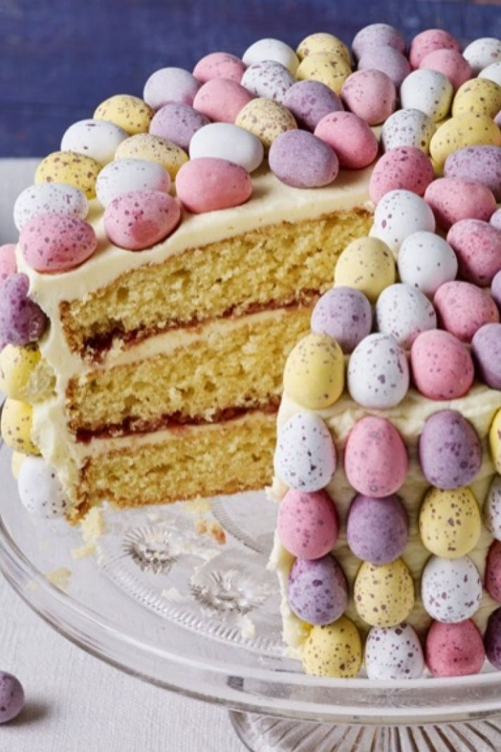 Easter egg cake - Dessert Recipes For Easter