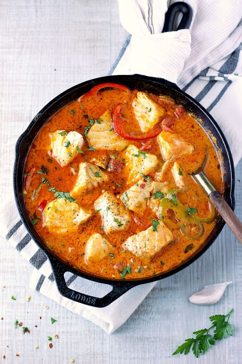 Easy 11-Minutes Fish Stew - Fish Recipes Simple Quick