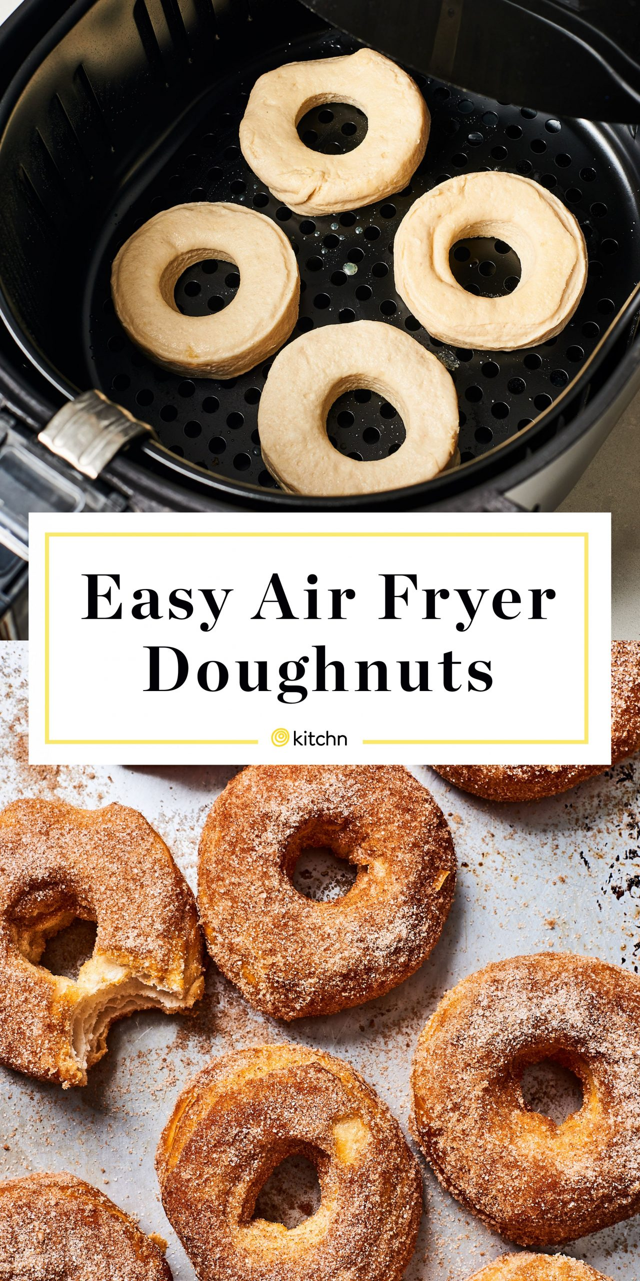 Easy Air Fryer Donuts - Dessert Recipes In Air Fryer