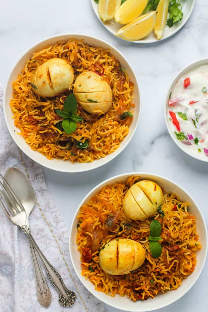 Easy and authentic Instant Pot Egg Biryani - Ministry of Curry - Recipes Egg Biryani