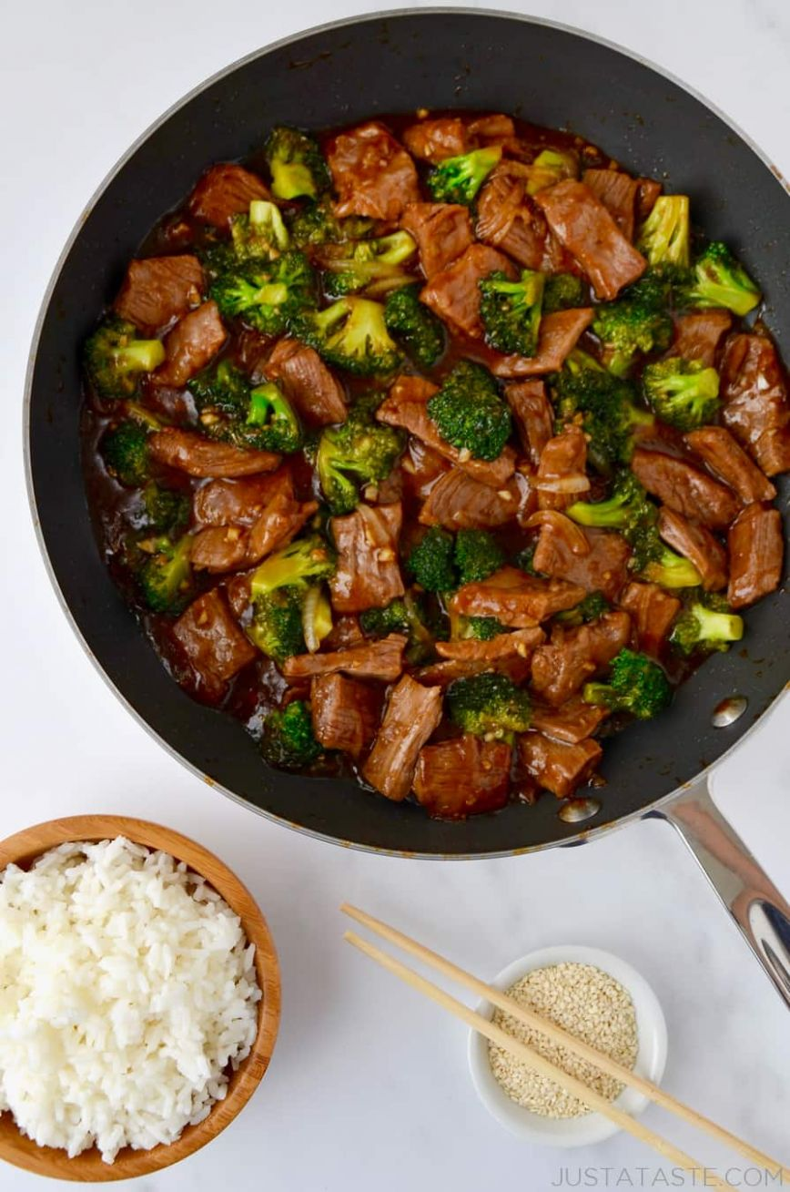 Easy Beef and Broccoli - Recipes Beef And Rice